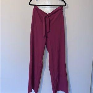 Maroon Dress Pants
